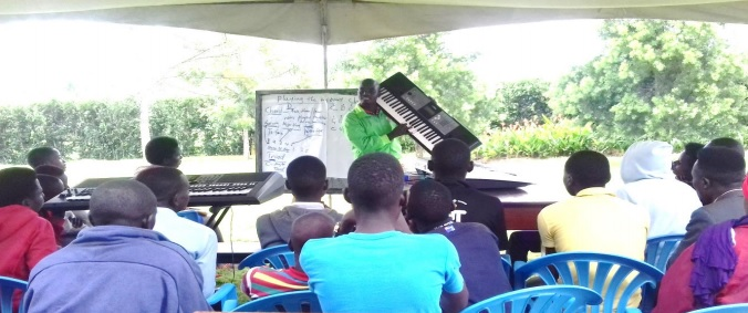 LMF Keyboard lessons