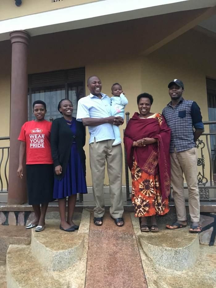 Happy Ugandan Family