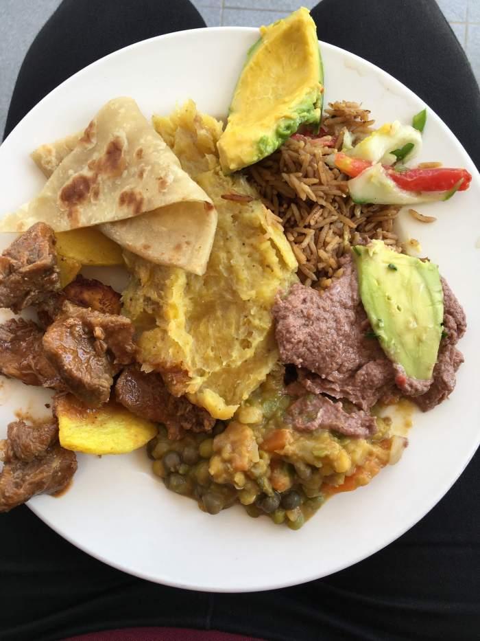 Ugandan Meal